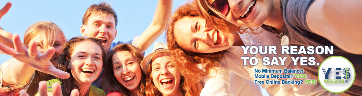 Group of young adults taking selfy