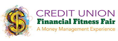 graphic of Financial Fitness Fair Logo
