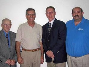 Photo Left to Right: Joseph Bouchard J., Patrick St. Peter, Jefferey Davenport, Kenneth Hensler