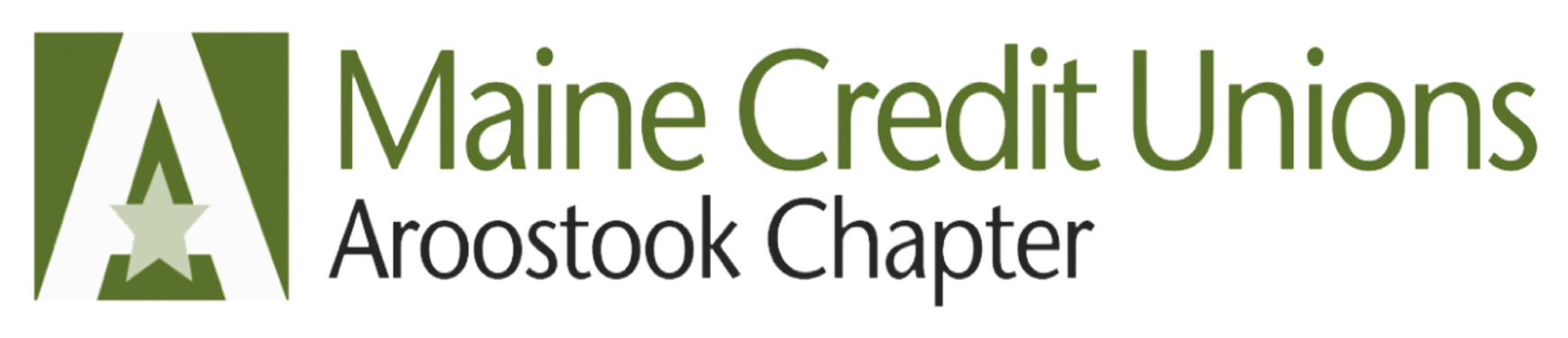 Logo for the Aroostook Chapter of Maine Credit Unions