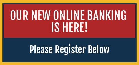 online banking notice